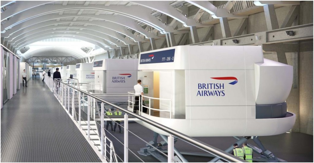 "British Airways <br><span style=""font-size:x-small;"">flight simulator training centre, relocation of engineering training facilities and a new centre for learning academy and campus </span>"
