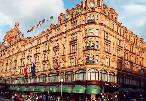 "Harrods – Knightsbridge, London <span style=""font-size:x-small;""> Complete roof replacement </span>"