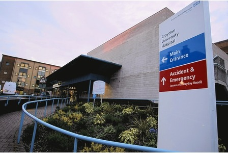 "Croydon University Hospital <br><span style=""font-size:x-small;"">Refurbishment of ground floor maternity care</span>"