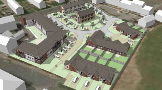 "The Friarage, Hartlepool <br><span style=""font-size:x-small;"">Redevelopment of the historic Grade II Listed Friarage Manor House and surrounding 1.95 acres, to create affordable bungalows for shared ownership for people aged 55 and over</span>"
