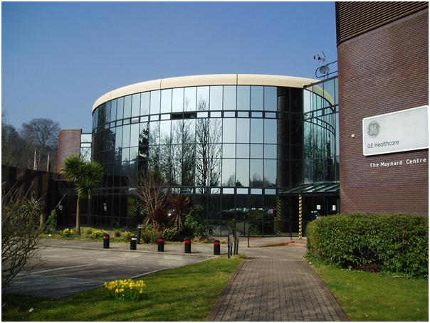 "GE Healthcare <br><span style=""font-size:x-small;"">alterations to existing healthcare plant in cardiff</span>"