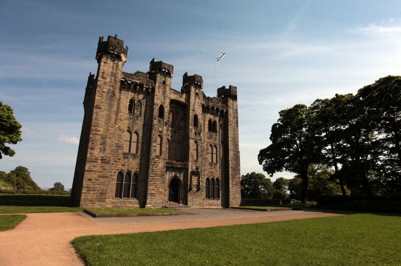 "Hylton Castle, Sunderland <br><span style=""font-size:x-small;"">Refurbishment of a grade I listed castle</span>"