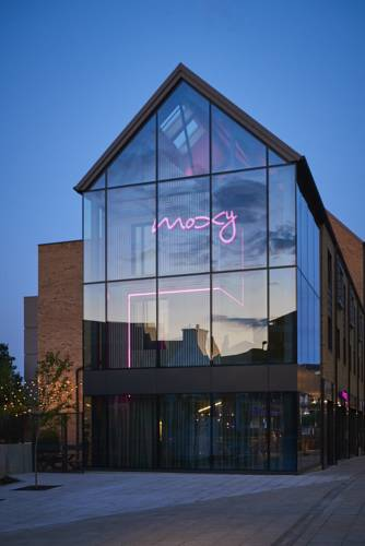 """Moxy Hotel, York<br><span style=""""font-size:x-small;"""">Construction of new 118 bedroom hotel in York city centre</span>"""