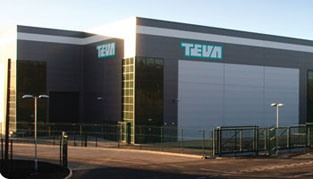 "TEVA, Runcorn <br><span style=""font-size:x-small;"">specialist cleanroom and pharmaceutical facility</span>"