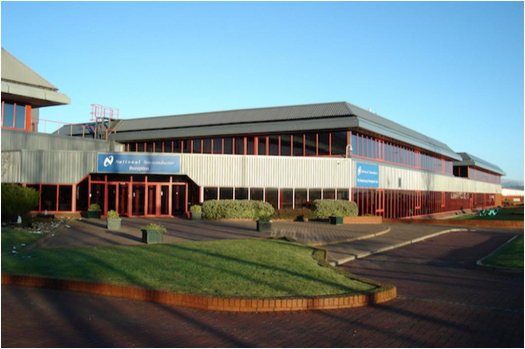 "Texas Instruments, Greenock <br><span style=""font-size:x-small;"">specialist cleanroom facility and tool design</span>"