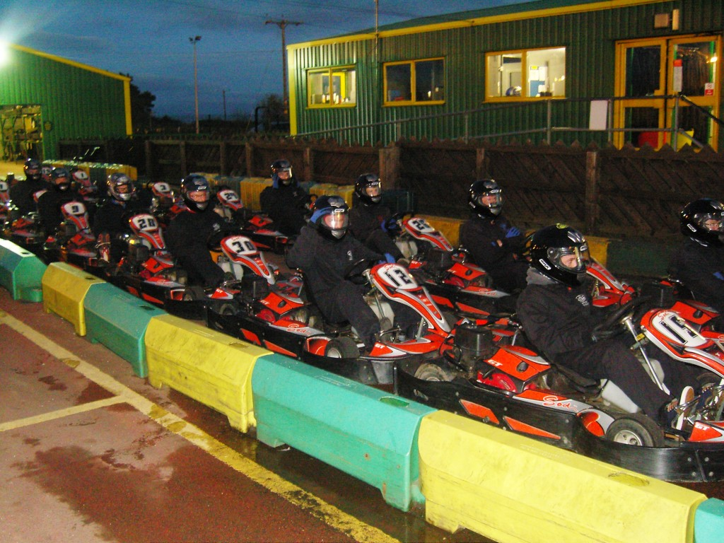 Enterprise and Innovation Centre Team at Go Karting North East