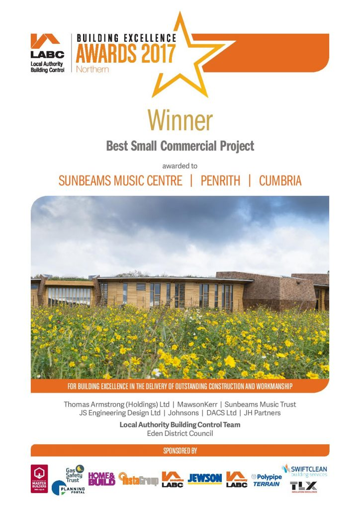 Best Small Commercial Project